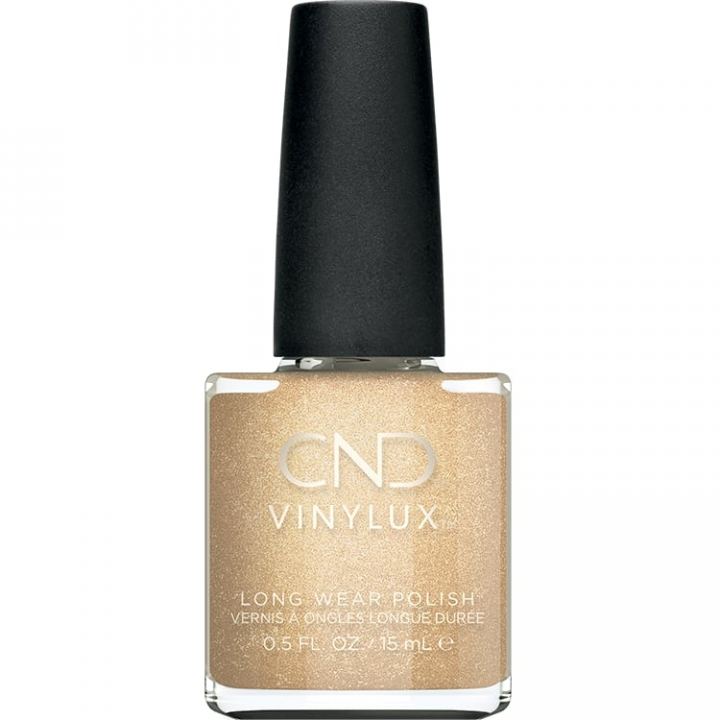 CND Vinylux Nr:368 Get That Gold i gruppen CND / Vinylux Nagellack / Cocktail Couture hos Nails, Body & Beauty (00843)