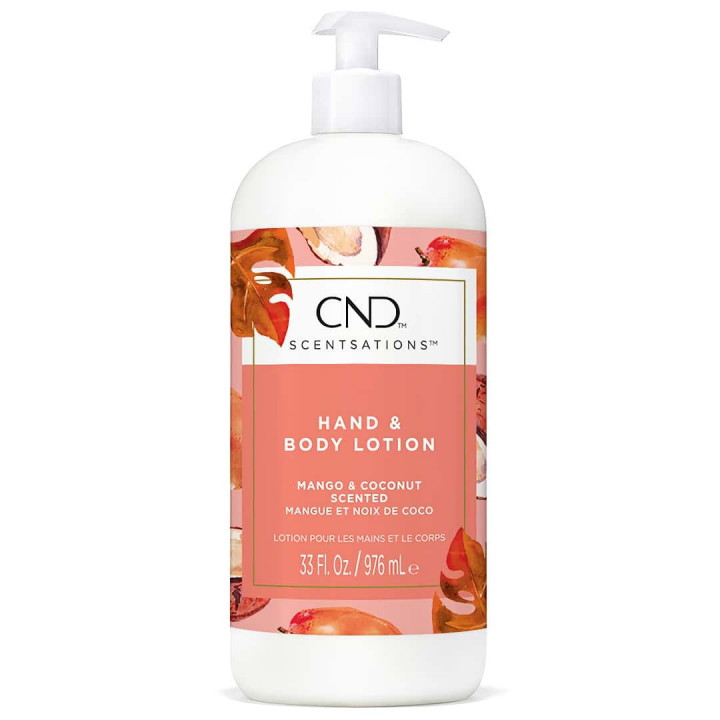 CND Scentsations Mango & Coconut 917 ml Lotion i gruppen CND / Scentsations hos Nails, Body & Beauty (1173)