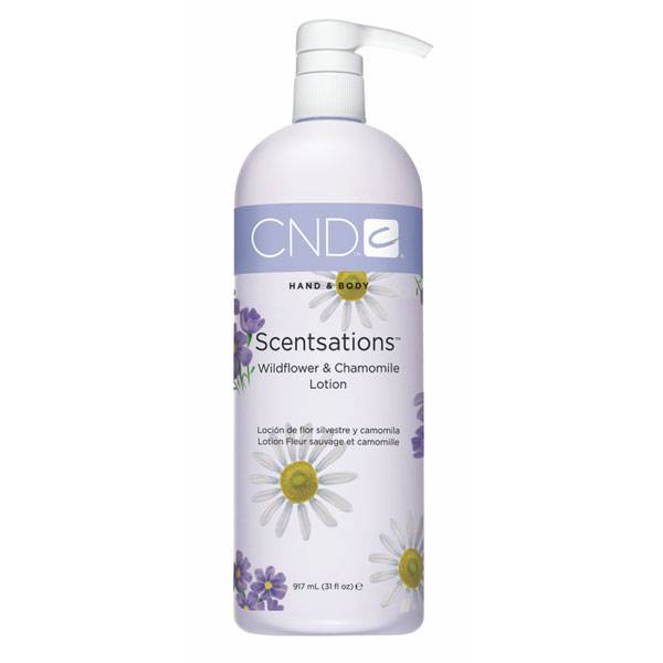 CND Scentsations Wildflower & Chamomile 917 ml Lotion i gruppen CND / Scentsations hos Nails, Body & Beauty (1199)