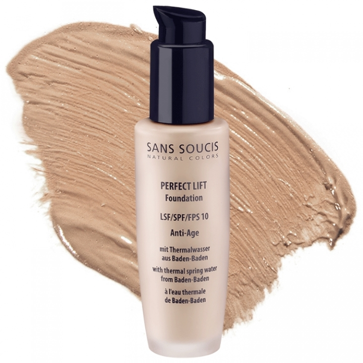 Sans Soucis Perfect Lift Foundation SPF10 Nr:10 Light Beige i gruppen Sans Soucis / Foundation hos Nails, Body & Beauty (1945)