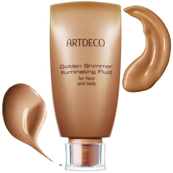 Artdeco Golden Shimmer Illuminating Fluid i gruppen ArtDeco / Makeup / Bronzing hos Nails, Body & Beauty (2319)