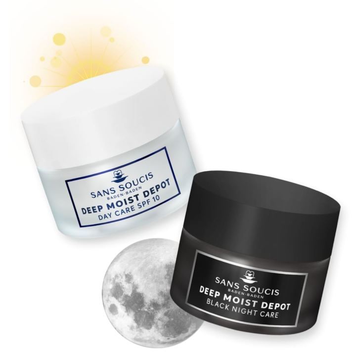 Sans Soucis Day Meets Night DUO Pack i gruppen Sans Soucis / Ansiktsvård / Moisture hos Nails, Body & Beauty (25480)