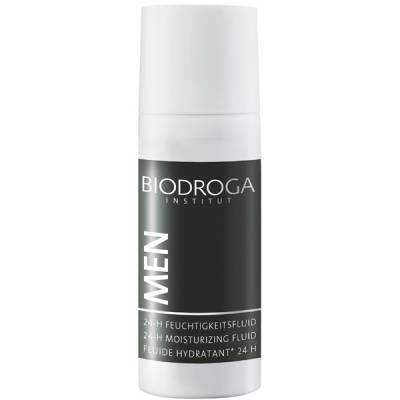 Biodroga Men 24-H Moisturizing Fluid i gruppen Biodroga / För Män hos Nails, Body & Beauty (2966)