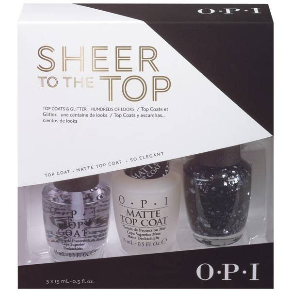 OPI Gwen Stefani Sheer to The Top -Trio- i gruppen OPI / Nagellack / Gwen Stefani hos Nails, Body & Beauty (4162)