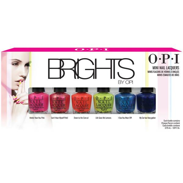OPI Brights Mini-Pack i gruppen OPI / Nagellack / Brights hos Nails, Body & Beauty (4398)