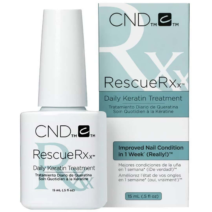 CND RescueRXx 15ml i gruppen CND / Vårdande Nagellack hos Nails, Body & Beauty (4401)