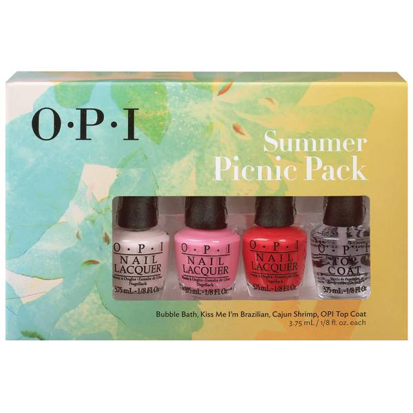 OPI Summer Picnic Pack i gruppen OPI / Nagellack / Övrigt hos Nails, Body & Beauty (4403)
