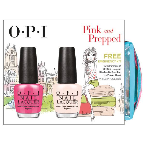 OPI Pink and Prepped i gruppen OPI / Nagellack / Soft Shades hos Nails, Body & Beauty (4429)
