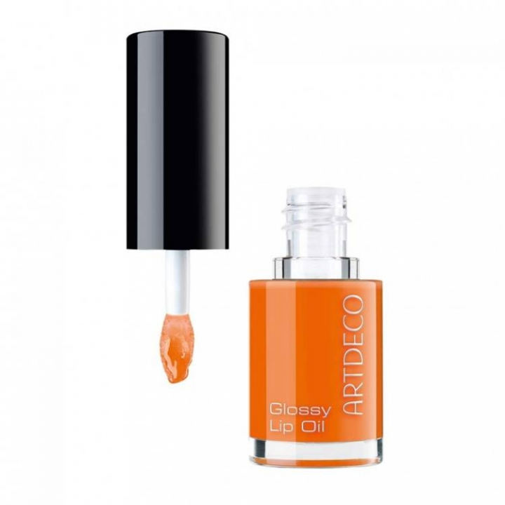 Artdeco Glossy Lip Oil Nr:2 Orange Pop i gruppen ArtDeco / Makeup / Läppglans hos Nails, Body & Beauty (4807)