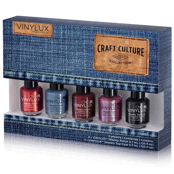 CND Vinylux Craft Culture Pinkies -Smal- i gruppen CND / Vinylux Nagellack / Craft Culture hos Nails, Body & Beauty (4831)