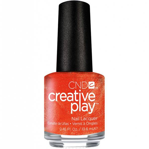 CND Creative Play Orange You Curious i gruppen CND / Creative Play Nagellack hos Nails, Body & Beauty (4895)