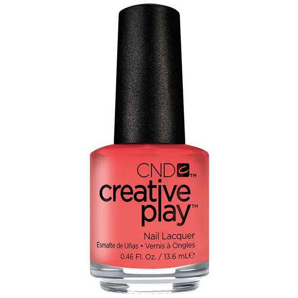 CND Creative Play Jammin Salmon i gruppen CND / Creative Play Nagellack hos Nails, Body & Beauty (4948)