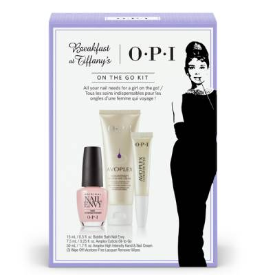 OPI Breakfast at Tiffany´s On the Go Kit i gruppen OPI / Nagellack / Breakfast at Tiffany´s hos Nails, Body & Beauty (4984)