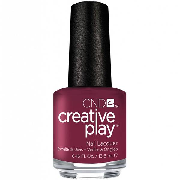 CND Creative Play Berry Busy i gruppen CND / Creative Play Nagellack hos Nails, Body & Beauty (5017)