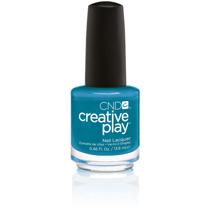CND Creative Play Teal The Wee Hours i gruppen CND / Creative Play Nagellack / Sunset Bash hos Nails, Body & Beauty (503-1)