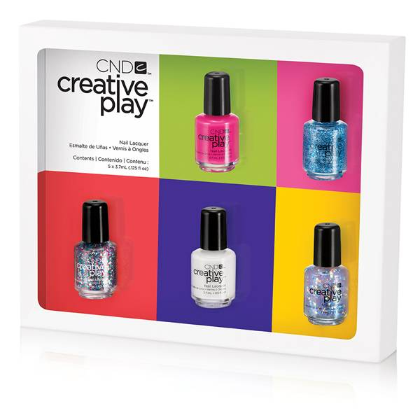 CND Creative Play Pinkies 5-Pack i gruppen CND / Creative Play Nagellack hos Nails, Body & Beauty (5033)