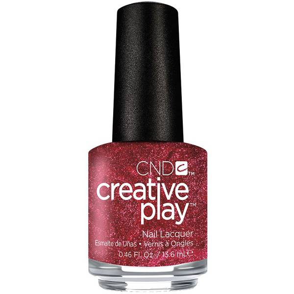 CND Creative Play Crimson Like it Hot i gruppen CND / Creative Play Nagellack hos Nails, Body & Beauty (5040)