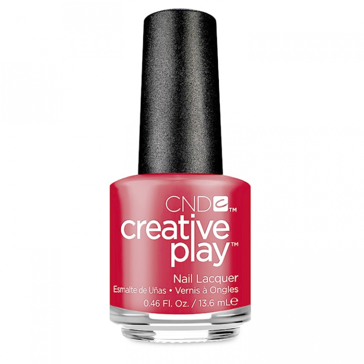CND Creative Play Red Tie Affair i gruppen CND / Creative Play Nagellack hos Nails, Body & Beauty (508-1)