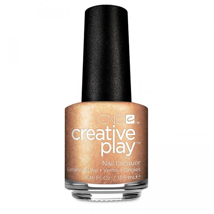 CND Creative Play Bronze Burst i gruppen CND / Creative Play Nagellack hos Nails, Body & Beauty (509-1)