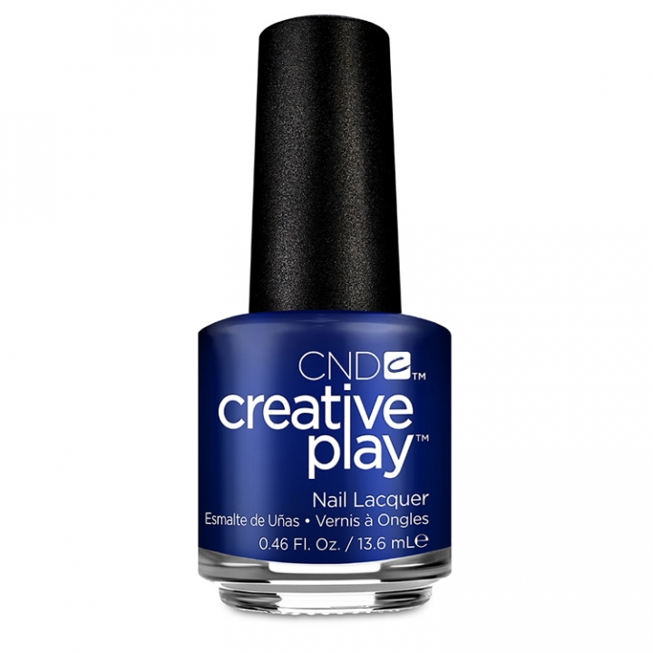 CND Creative Play Stylish Sapphire i gruppen CND / Creative Play Nagellack hos Nails, Body & Beauty (511-1)