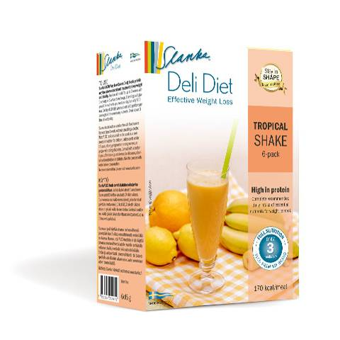 Slanka Deli Diet Tropical Shake 6-Pack i gruppen SLANKA Deli Diet hos Nails, Body & Beauty (5157)
