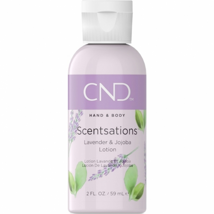 CND Scentsations Lavender & Jojoba 59 ml Lotion i gruppen CND / Scentsations hos Nails, Body & Beauty (5223)