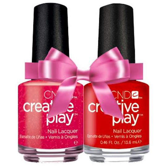 CND Creative Play Red DUO Kit i gruppen CND / Creative Play Nagellack hos Nails, Body & Beauty (6018746)