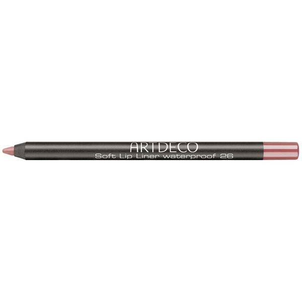 Artdeco Soft Lip Liner Vattenfast Nr:26 Sensual Teak i gruppen ArtDeco / Makeup / Lip Liners hos Nails, Body & Beauty (707)