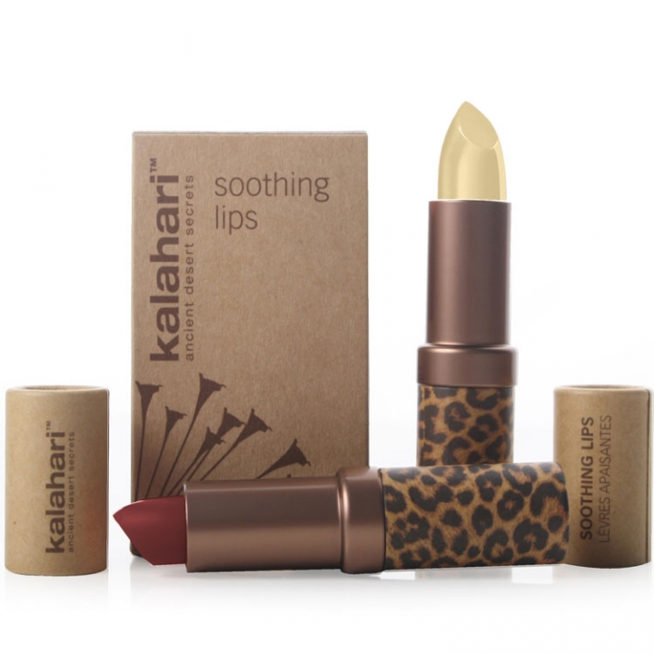 Kalahari Soothing Lips -Kalahari Sunset- Box Set i gruppen Kalahari hos Nails, Body & Beauty (9617)