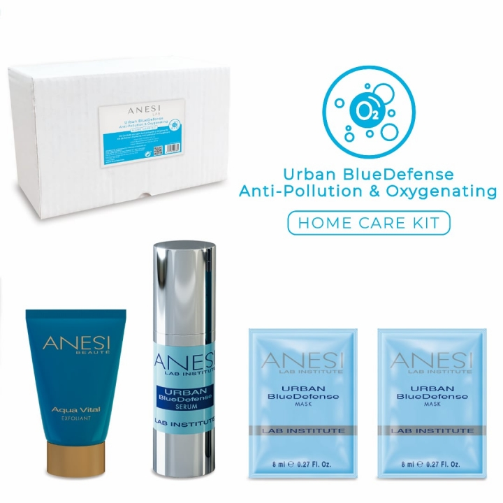 Anesi Urban BlueDefense Anti-Pollution & Oxygenating Home Care Kit i gruppen Anesi hos Nails, Body & Beauty (AB06MF4)
