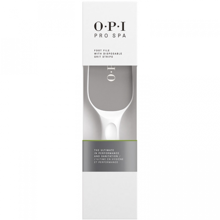 OPI Pro Spa Foot File with Disposable Grit Strips i gruppen OPI / Pedikyr hos Nails, Body & Beauty (AS100)