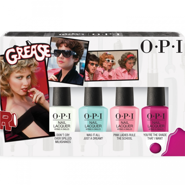 OPI Grease Mini-pack i gruppen OPI / Nagellack / Grease hos Nails, Body & Beauty (DDG14)