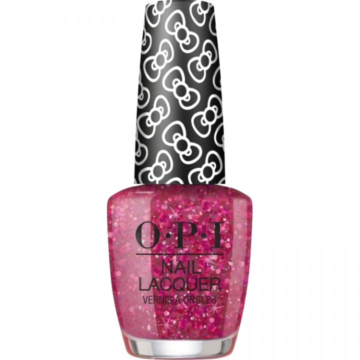 OPI Hello Kitty Dreamin Glitter i gruppen OPI / Nagellack / Hello Kitty hos Nails, Body & Beauty (HRL14)