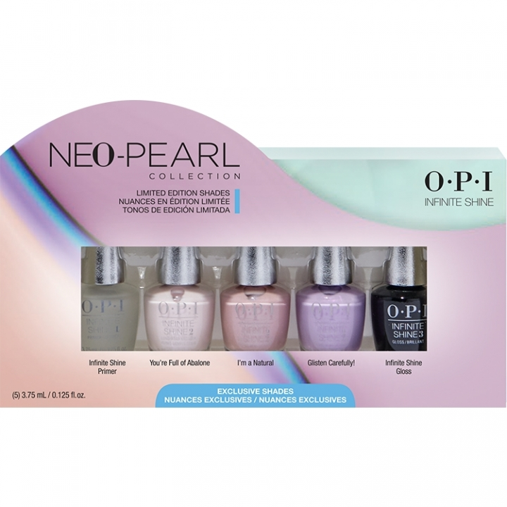 OPI Neo-Pearl Infinite Shine 5-pack Mini i gruppen OPI / Infinite Shine Nagellack / Neo-Pearl hos Nails, Body & Beauty (ISDE2)