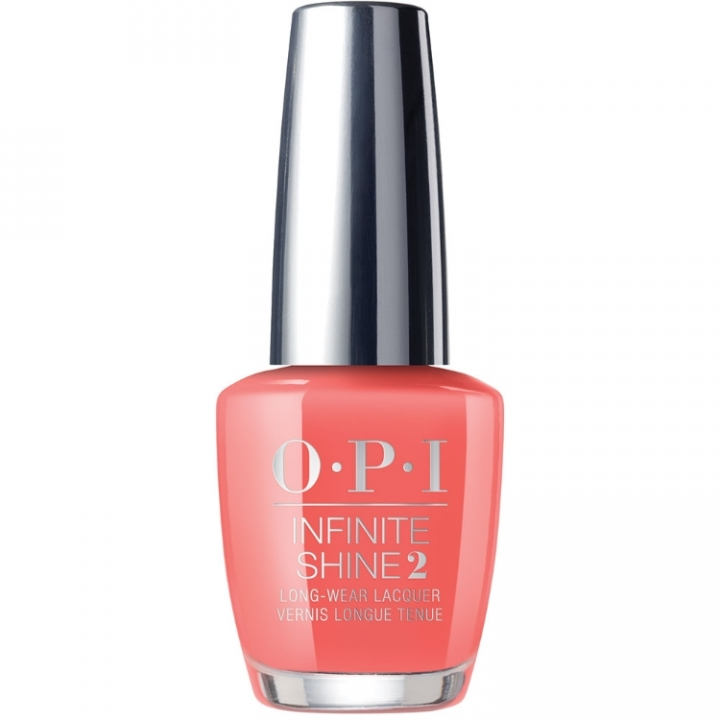 OPI Infinite Shine Neon Orange You a Rock Star? i gruppen OPI / Infinite Shine Nagellack / Neon hos Nails, Body & Beauty (ISLN71)