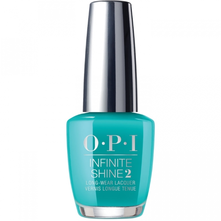 OPI Infinite Shine Neon Dance Party Teal Dawn i gruppen OPI / Infinite Shine Nagellack / Neon hos Nails, Body & Beauty (ISLN74)