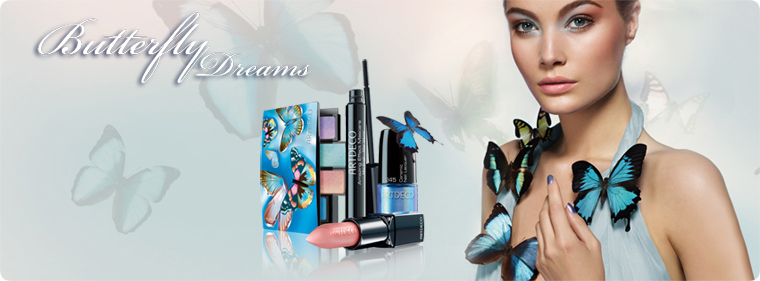 Artdeco Butterfly Dreams makeup