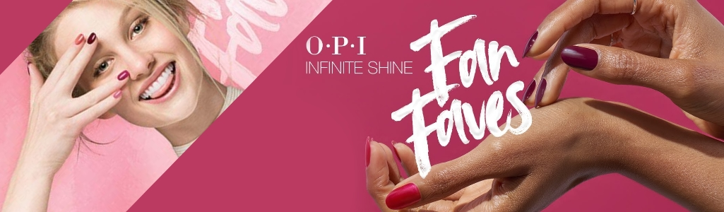 OPI Infinite Shine Fan Faves Nagellack