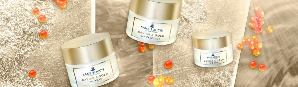 Sans Soucis Caviar & Gold Skin Care