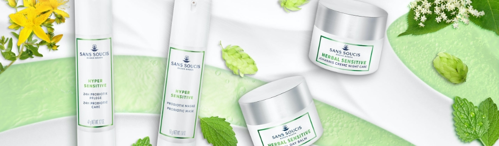 Sans Soucis Sensitive and Hyper Sensitive Skin Care
