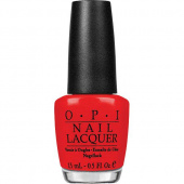 OPI Hong Kong Red My Fortune Cookie