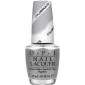 OPI Color Paints Silver Canvas