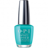 OPI Infinite Shine Neon Dance Party Teal Dawn